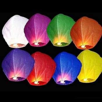 Китайские воздушные фонарики