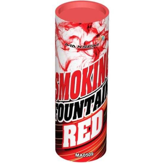 SMOKING FOUNTAIN RED