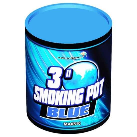 SMOKING POT BLUE