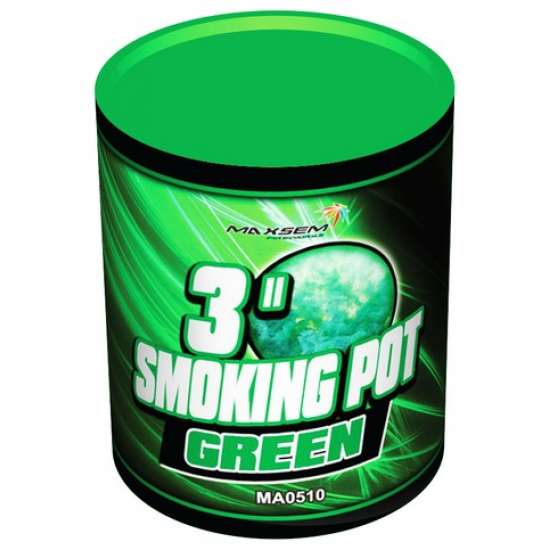 SMOKING POT GREEN