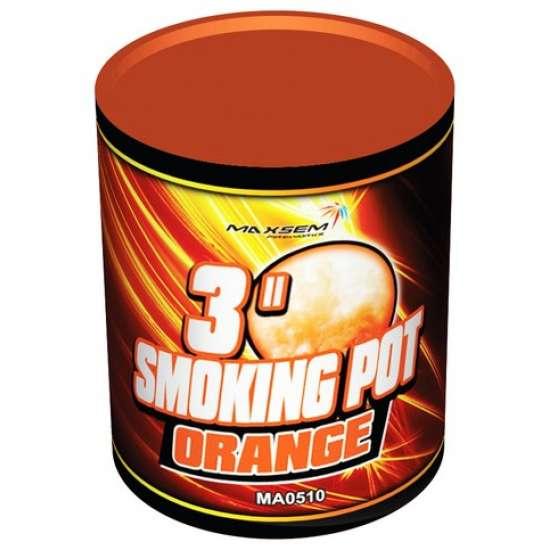 SMOKING POT ORANGE