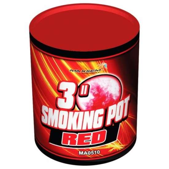 SMOKING POT RED
