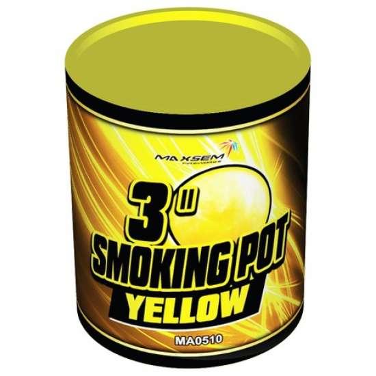 SMOKING POT YELLOW
