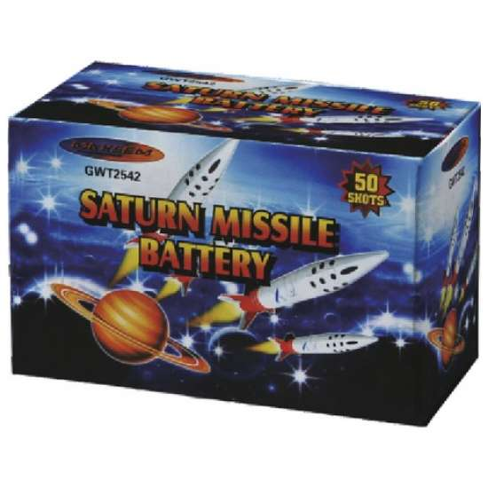 SATURN MISSILE BATTERY 50s
